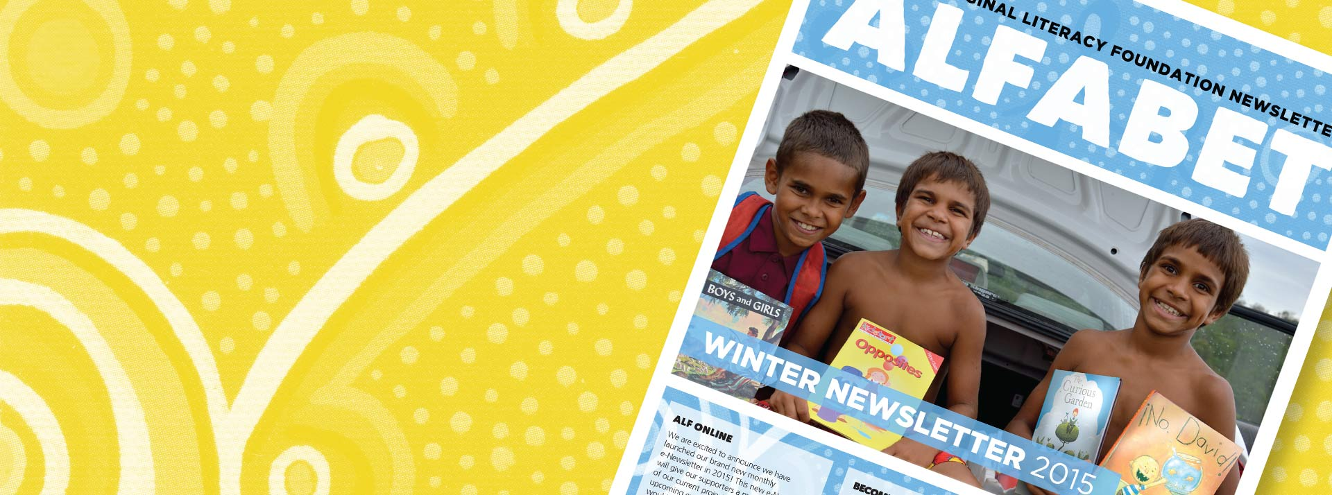 The ALF Winter Newsletter is online!