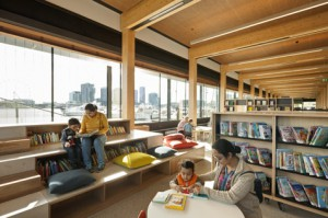 Docklands reading area