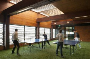 Docklands table tennis room