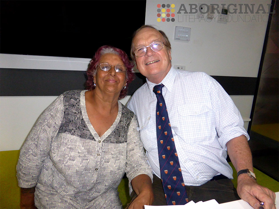 Sue Bacon with Dr Anthony Cree